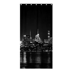 New York Skyline Shower Curtain 36  X 72  (stall)