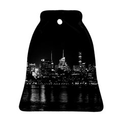 New York Skyline Bell Ornament (two Sides)