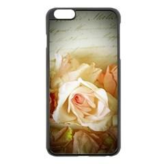 Roses Vintage Playful Romantic Apple Iphone 6 Plus/6s Plus Black Enamel Case by Celenk