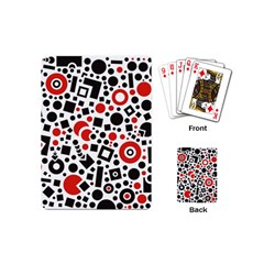 Square Objects Future Modern Playing Cards (mini)  by Celenk