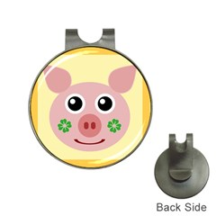 Luck Lucky Pig Pig Lucky Charm Hat Clips With Golf Markers by Celenk