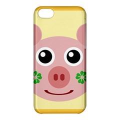 Luck Lucky Pig Pig Lucky Charm Apple Iphone 5c Hardshell Case by Celenk