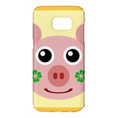 Luck Lucky Pig Pig Lucky Charm Samsung Galaxy S7 Edge Hardshell Case by Celenk