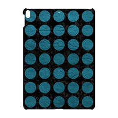 Circles1 Black Marble & Teal Leather (r) Apple Ipad Pro 10 5   Hardshell Case by trendistuff