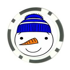 Snowman 1300097 1280 Poker Chip Card Guard by Colorfulart23