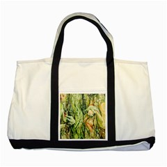 Chung Chao Yi Automatic Drawing Two Tone Tote Bag by Celenk