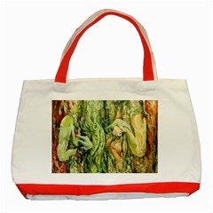 Chung Chao Yi Automatic Drawing Classic Tote Bag (red) by Celenk