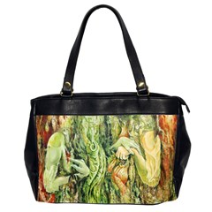 Chung Chao Yi Automatic Drawing Office Handbags (2 Sides)  by Celenk