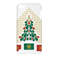 Christmas Tree Present House Star Apple Ipod Touch 5 Hardshell Case by Celenk