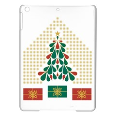 Christmas Tree Present House Star Ipad Air Hardshell Cases by Celenk