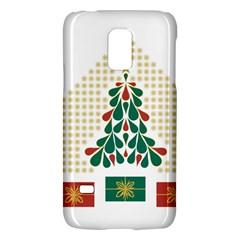 Christmas Tree Present House Star Galaxy S5 Mini by Celenk