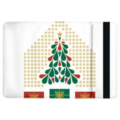 Christmas Tree Present House Star Ipad Air 2 Flip by Celenk