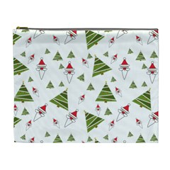 Christmas Santa Claus Decoration Cosmetic Bag (xl) by Celenk