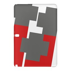 Cross Abstract Shape Line Samsung Galaxy Tab Pro 10 1 Hardshell Case by Celenk