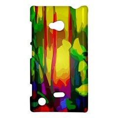Abstract Vibrant Colour Botany Nokia Lumia 720 by Celenk