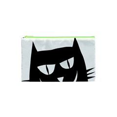 Cat Vector Clipart Figure Animals Cosmetic Bag (xs) by Celenk