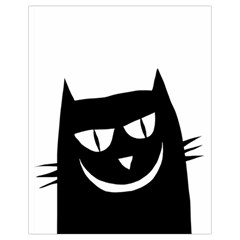 Cat Vector Clipart Figure Animals Drawstring Bag (small) by Celenk