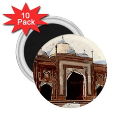 Agra Taj Mahal India Palace 2 25  Magnets (10 Pack)  by Celenk