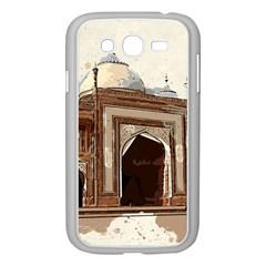 Agra Taj Mahal India Palace Samsung Galaxy Grand Duos I9082 Case (white) by Celenk