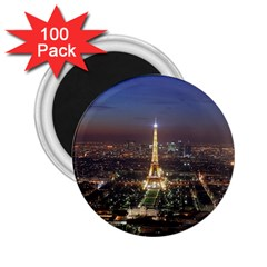 Paris At Night 2 25  Magnets (100 Pack)  by Celenk
