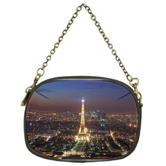 Paris At Night Chain Purses (two Sides)  by Celenk