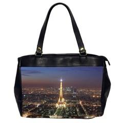 Paris At Night Office Handbags (2 Sides)  by Celenk