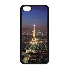Paris At Night Apple Iphone 5c Seamless Case (black) by Celenk