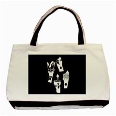 Kiss Band Logo Basic Tote Bag by Celenk