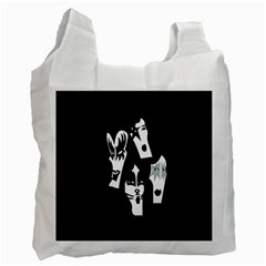 Kiss Band Logo Recycle Bag (one Side) by Celenk