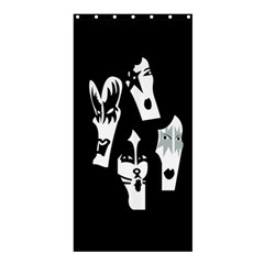 Kiss Band Logo Shower Curtain 36  X 72  (stall)  by Celenk