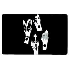 Kiss Band Logo Apple Ipad 3/4 Flip Case by Celenk