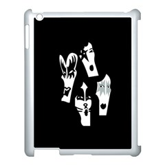 Kiss Band Logo Apple Ipad 3/4 Case (white) by Celenk