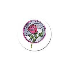 Beauty And The Beast Rose Golf Ball Marker (10 Pack) by Celenk