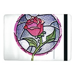 Beauty And The Beast Rose Samsung Galaxy Tab Pro 10 1  Flip Case by Celenk