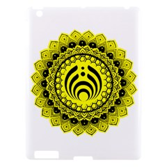Bassnectar Sunflower Apple Ipad 3/4 Hardshell Case by Celenk