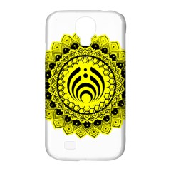 Bassnectar Sunflower Samsung Galaxy S4 Classic Hardshell Case (pc+silicone) by Celenk