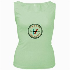 Twenty One Pilots Women s Green Tank Top by Celenk