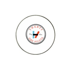 Twenty One Pilots Hat Clip Ball Marker (4 Pack) by Celenk
