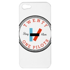 Twenty One Pilots Apple Iphone 5 Hardshell Case by Celenk