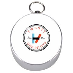 Twenty One Pilots Silver Compasses by Celenk