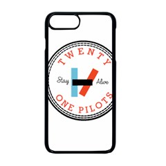 Twenty One Pilots Apple Iphone 8 Plus Seamless Case (black) by Celenk