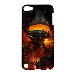 Dragon Legend Art Fire Digital Fantasy Apple Ipod Touch 5 Hardshell Case by Celenk