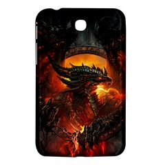 Dragon Legend Art Fire Digital Fantasy Samsung Galaxy Tab 3 (7 ) P3200 Hardshell Case  by Celenk