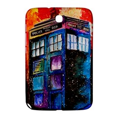 Dr Who Tardis Painting Samsung Galaxy Note 8 0 N5100 Hardshell Case  by Celenk