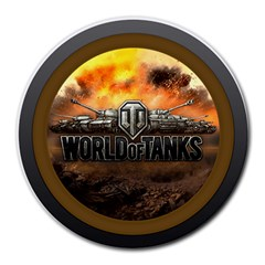 World Of Tanks Wot Round Mousepads by Celenk