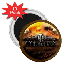 World Of Tanks Wot 2 25  Magnets (10 Pack)  by Celenk