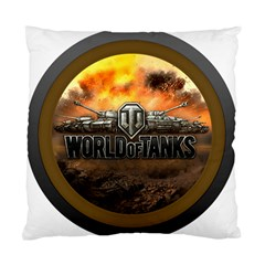 World Of Tanks Wot Standard Cushion Case (two Sides) by Celenk