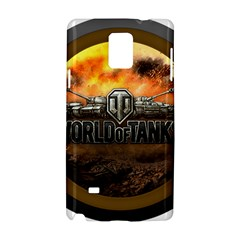 World Of Tanks Wot Samsung Galaxy Note 4 Hardshell Case by Celenk