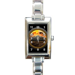 World Of Tanks Wot Rectangle Italian Charm Watch by Celenk