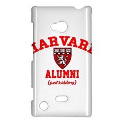 Harvard Alumni Just Kidding Nokia Lumia 720 by Celenk
